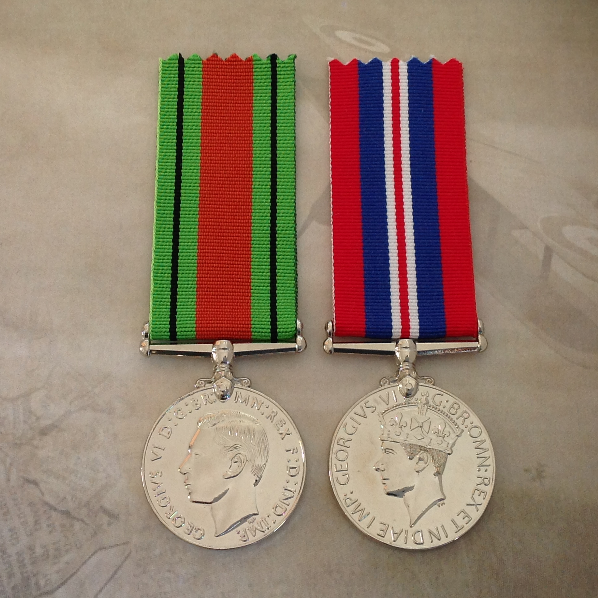 """6/"""" LONG 1939-1945 BRITISH WAR MEDAL FULL SIZE REPLACEMENT RIBBON . WWII"""